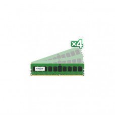 Crucial DDR4-2133 32GB(4x 8GB)/1Gx72 ECC/REG CL15 Server Memory kit